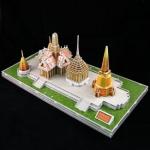 จิ๊กซอ 3 มิติ วัดพระศรีรัตนศาสดาราม(Wat Phra Kaew)(No.MC124h)