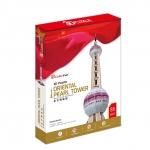 จิ๊กซอ 3 มิติ หอไข่มุกตะวันออก(Oriental Pearl Tower)(No.MC105h)