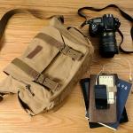 กระเป๋ากล้องแฟชั่นสไตล์วินเทจ
