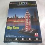 จิ๊กซอ 3 มิติ บิ๊กเบน(Big Ben UK)แบบเปล่งแสง(LED)(L501h)