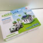 ของเล่นรถยนต์พลังงานแสงอาทิตย์(Green life)