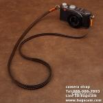 สายคล้องกล้อง หนังแท้ CAM2832