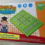 ซูโดกุกระดานพลาสติก ( Crazy For Sudoku)