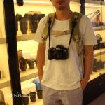 สายคล้องกล้อง คล้องกับกระเป๋า
