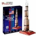 จิ๊กซอ 3 มิติ วิลลิสทาวเวอร์ (Willis Tower)