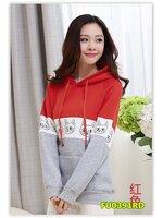 พรีออเดอร์ เสื้อกันหนาว/เสื้อแขนยาว สีแดง มีไซด์ M/L/XL/XXL