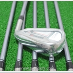 (New) Iron Set Adams Idea Super S Combo #3 - PW รวม 8 ชิ้น #3 , #4 Hybrids #6 - PW ก้าน Matrix Kujoh Flex S พร้อม cover