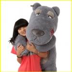 ตุ๊กตาหมีแบคค่อม สีเทา ขนาด 1.6 เมตร