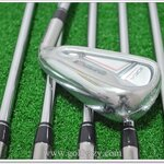 (New) Iron Set Adams Idea Super S Combo #3 - PW รวม 8 ชิ้น #3 , #4 Hybrids ก้าน Matrix Kujoh Flex R , #5 - PW ก้าน KBS 90 Flex R
