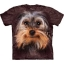 Big Face Yorkshire Terrier Dog T-Shirts thumbnail 1