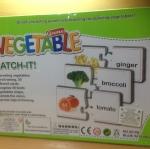 เกมจิ๊กซอจับคู่คำศัพท์ หมวดผัก Vegetable